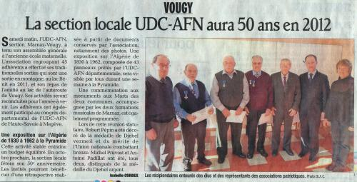 UDC, AFN, Marnaz, Vougy