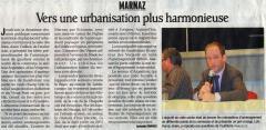 PLU, Marnaz, urbanisme Hermy, Loisin