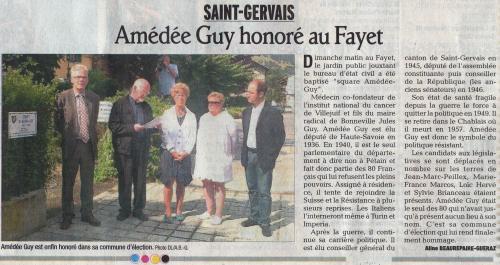 Amédée GUY, Marie-France MARCOS, Jean-Marc PEILLEX