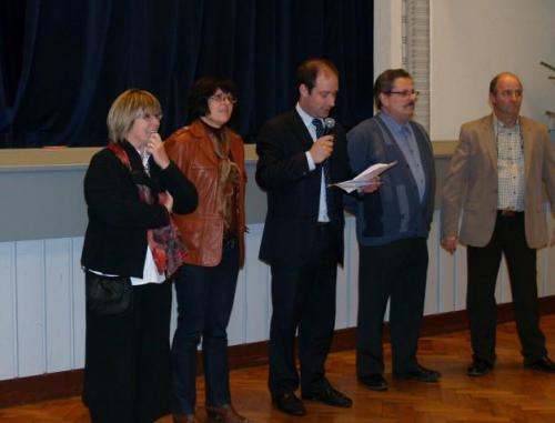 Françoise DENIZON, Pascale CAMPS, Thierry BENE, Robert GLEY, Loïc HERVE