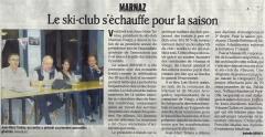 Marnaz, ski-club, Assemblée Générale
