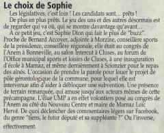 Sophie Dion, loïc Hervé