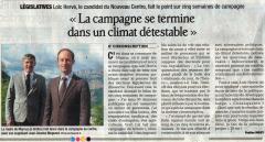 Loïc Hervé, législatives 2012