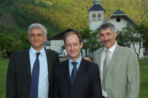 Hervé MORIN, Loïc HERVE, Jean-Charles MOGENET