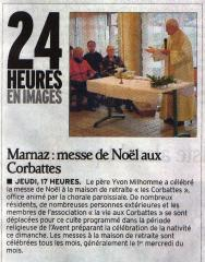 Corbattes, Noël, 2011