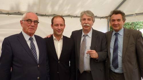Patrick MAUGARD, Martin MALVY, Pierre JARLIER, Loïc HERVE, Castelnaudary, APVF