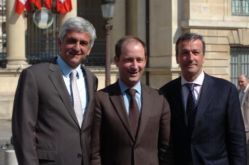 Philippe VIGIER, Hervé MORIN, Loïc HERVE